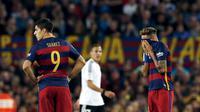 Barcelona vs Valencia (REUTERS/Albert Gea)