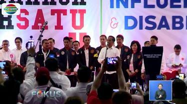 Deklarasi dihadiri oleh atlet senior seperti Taufik Hidayat dan Imelda Wiguna.
