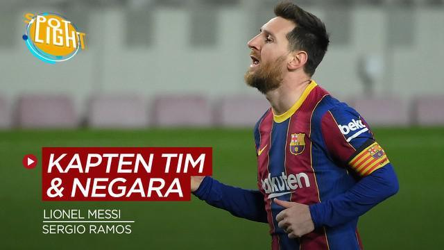 Berita video spotlight kali ini membahas Lionel Messi dan Sergio Ramos serta dua pemain lain yang berhasil menjadi kapten di klub dan negaranya.