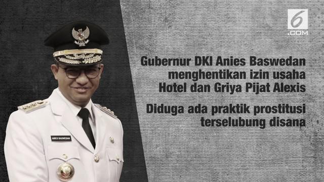 Jakarta sebelumnya punya beberapa lokalisasi prostitusi yang sudah dibubarkan.