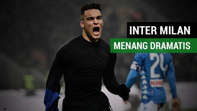 Berita Video Highlights Liga Italia 2018, Inter Milan Kalahkan Napoli