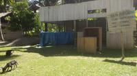 Balai Desa Mata Bondu, kotor dan tak terurus.(Liputan6.com/Ahmad Akbar Fua)