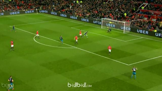 David De Gea tampil gemilang saat Manchester Untited hadapi Southampton. This video is presented by Ballball.
