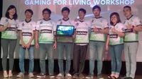 Kanaya Gaming dan Lenovo Indonesia (Liputan6.com /Yuslianson)