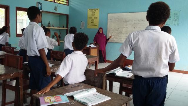 Kisah Guru Di Pedalaman Papua Setia Mengabdi Di Tengah Keterbatasan News Liputan6 Com