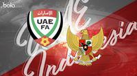 Kualifikasi Piala Dunia 2022: UEA vs Indonesia. (Bola.com/Dody Iryawan)