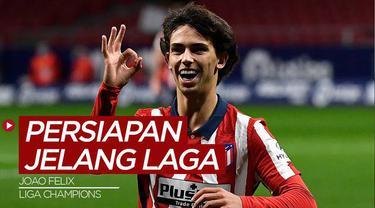 Berita Video, Persiapan Joao Felix Jelang Pertandingan di Liga Champions