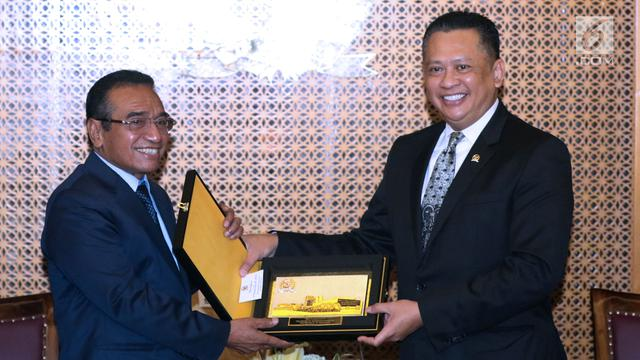 Ketua DPR RI Terima Kunjungan Presiden Timor Leste