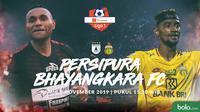 Shopee Liga 1 - Persipura Jayapura Vs Bhayangkara FC - Head to Head Pemain (Bola.com/Adreanus Titus)
