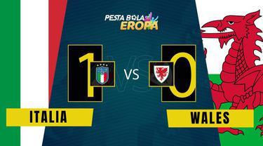 Berita Video, Matchday 3 Grup A Euro 2020 Italia Vs Wales (1-0) pada Minggu (20/6/2021)