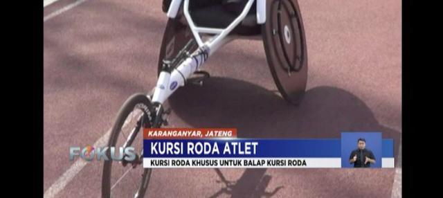 Sejumlah cabang olahraga yang dipertandingkan di Asian Para Games 2018 mengharuskan atlet menggunakan kursi roda.