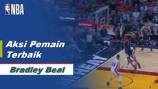 Berita Video Aksi-Aksi Bradley Beal Saat Miami Heat Kalahkan Washington Wizards di NBA