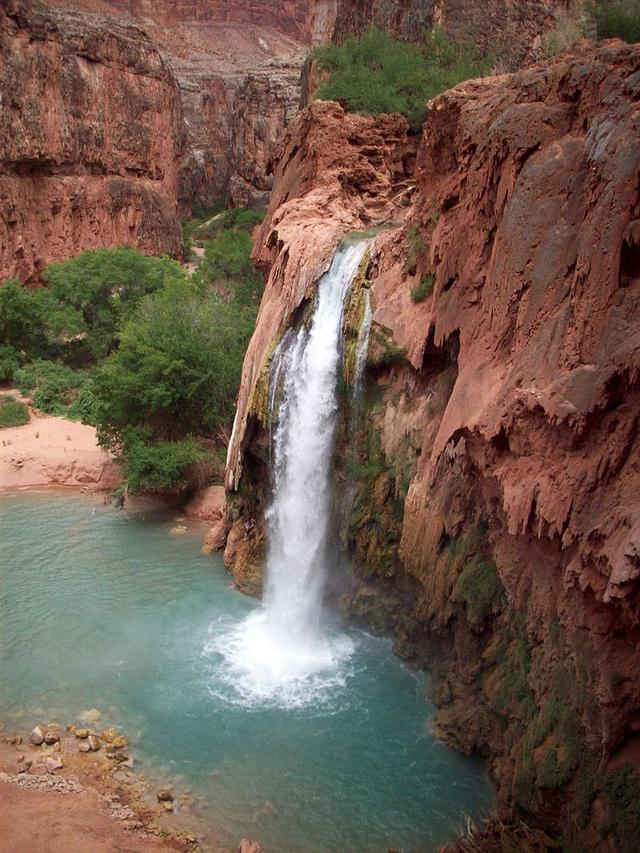 Air Terjun Havasu - Taman Nasional Grand Canyon