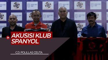 Berita Video Dihadiri Indra Sjafri, Batavia Sports Resmi Akuisisi Klub Spanyol