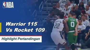 Kelima starter mencetak angka ganda, termasuk Kevin Durant dengan 29 poin, saat Golden State meraih kemenangan Game 2 melawan Houston.