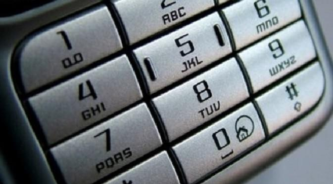 Ilustrasi nomor telepon