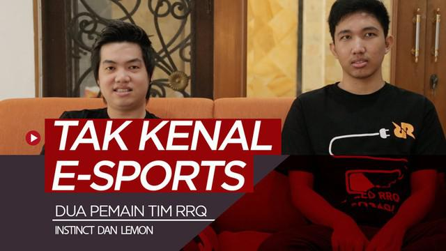 "Berita video wawancara 2 pemain tim RRQ, Calvien ""Instinct"" dan Ikhsan ""Lemon"", mulai dari awal mula tak kenal E-Sports sampai tips menjadi pemain profesional."