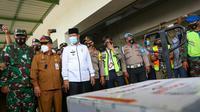 13 ribu vaksin Covid-19 riba di Kepulauan Riau.
