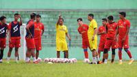 Tim pelati Arema FC di BRI Liga 1. (Bola.com/Iwan Setiawan)