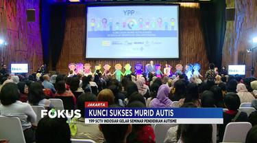 YPP SCTV-Indosiar menggelar seminar pendidikan autisme di SCTV Tower, Senayan, Jakarta Pusat.
