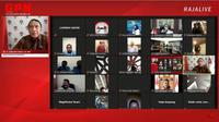 """Menpora RI Zainudin Amali membuka Munas Mahasiswa Pancasila (MAPANCAS) ke-XV dan Seminar Kebangsaan dengan tema """"Mahasiswa Pancasila Menyambut 100 Tahun Indonesia Emas"""" melalui virtual, Senin (27/7) siang."""