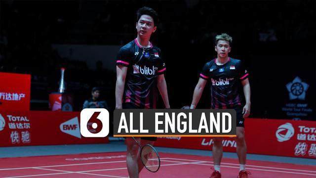 Pasangan ganda putra Indonesia Marcus Gideon dan Kevin Sanjaya dinyatakan lolos babak kedua. Walupun ajang All England 2020 belum dimulai.