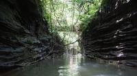 Keindahan alam aliran Sungai Bahorok serta keunikan flora dan fauna yang ada di kawasan TNGL merupakan atraksi andalan objek wisata Bukit Lawang.