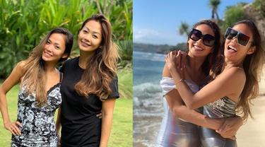 7 Potret Kedekatan Indah Kalalo dan Shanty Paredes, 21 Tahun Bersahabat