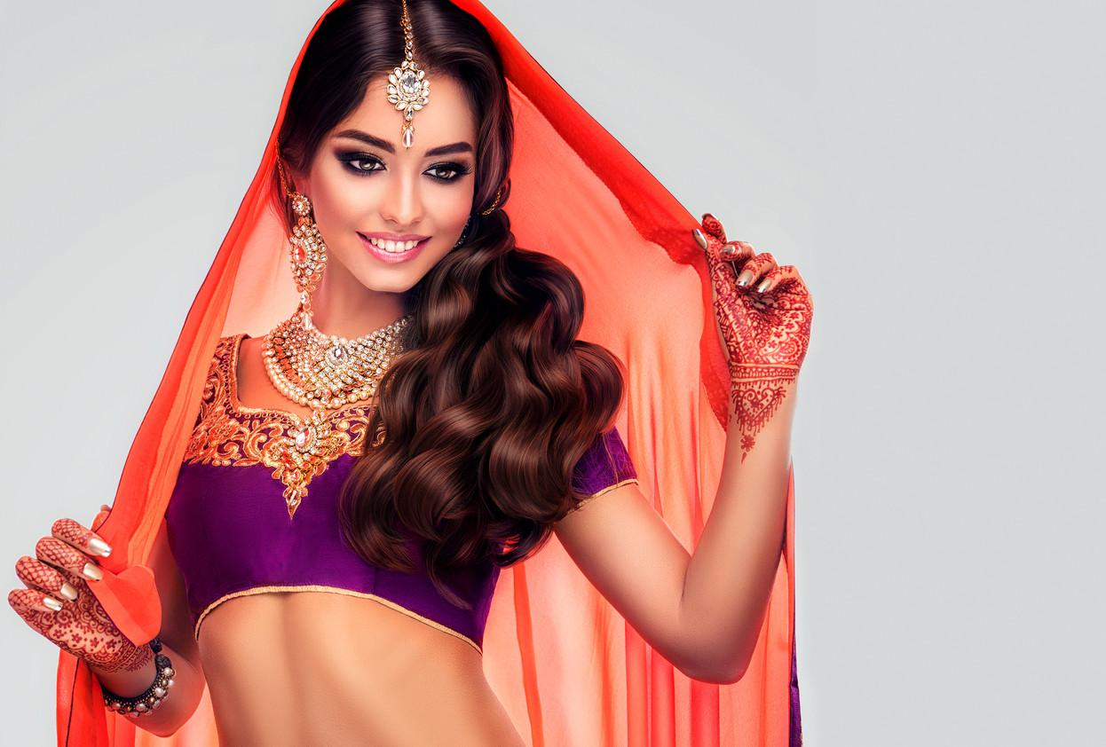 Ilustrasi wanita India (iStockphoto)