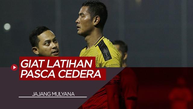 Berita Video Pemain Bhayangkara FC, Jajang Mulyana Lakukan Penyembuhan Tahap Akhir Pasca Cedera