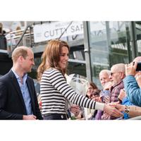 Gaya nautical Kate Middleton untuk gaya Ramadan (Instagram @kensingtonroyal)