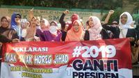Massa Gerakan 2019 Ganti Presiden. ©2018 Merdeka.com/Arul Nasrullah