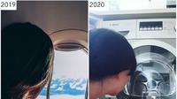 Perempuan yang tinggal di Afrika Selatan mengunggah foto perjalanannya dan membandingkannya dengan kondisi pandemi kali ini (Dok.Instagram/@thesharonicles/https://www.instagram.com/p/CDzcKAKM02b/Komarudin)