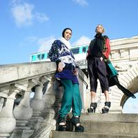 Busana Torso Nimbrung karya siswa SMK Kudus di fashion show Paris