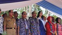 Menpar hadir di acara Pembukaan Festival Pesona Selat Lembeh pada Senin (7/10).