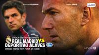 Real Madrid vs Deportivo Alaves (Liputan6.com/Abdillah)