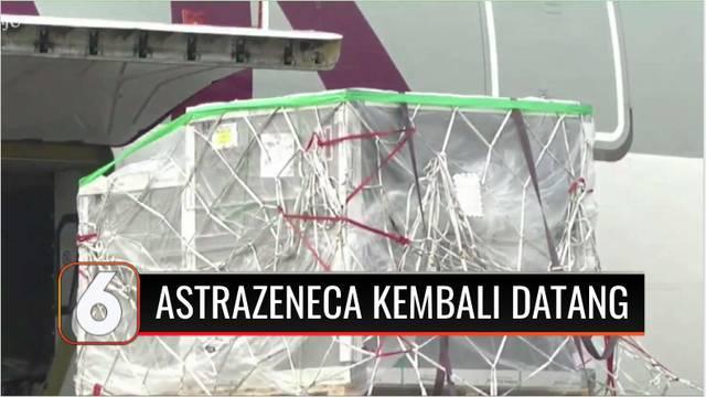 Pemerintah Indonesia kembali kedatangan 680 ribu lebih dosis vaksin jadi, jenis Astrazeneca dari Selandia Baru pada Senin (25/10). Sebelum digunakan oleh masyarakat, vaksin akan diperiksa di Bio Farma, Bandung, Jawa Barat.