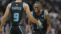 Kemba Walker menjadi bintang kemenangan Hornets atas Celtics pada lanjutan NBA (AP)