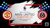 Manchester United vs Sheffield United(Liputan6.com/Abdillah)