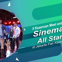 Meet and Greet Sinemart All Stars