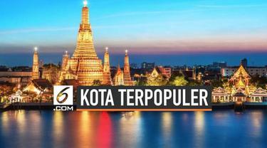 Bangkok dinobatkan sebagai peringkat pertama kota tujuan turis di dunia. Menurut survey yang dilakukan sebuah perusahaan pembayaran kartu global, Mastercard Inc, selama 4 tahun berturut – turut Bangkok menjadi kota yang paling banyak dikunjungi.