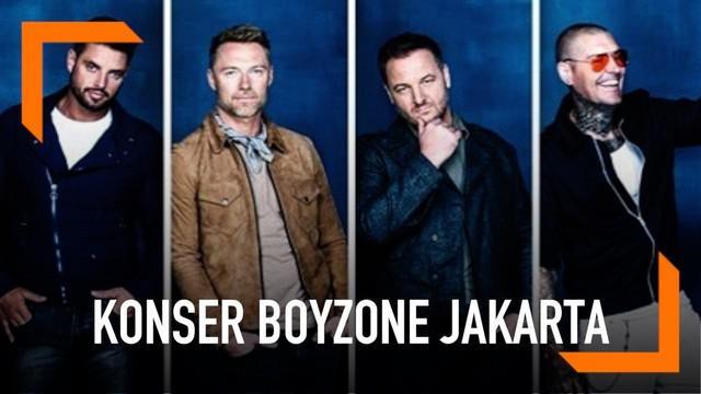 Boyzone akan menggelar konser perpisahan di Jakarta. Bertempat di Tennis Inddor Senayan pada tanggal 24 Maret 2019.