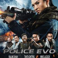 Police Evo, film laga pertama Raline Shah. (Screenplay Films/Astro Shaw/SCM/Blackflag)