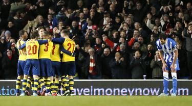 Selebrasi Arsenal