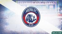 Arema FC Logo (Bola.com/Adreanus Titus)