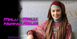 Ramadan kali ini, Risty sudah mulai menyanyikan lagu di albumnya dalam beberapa acara.