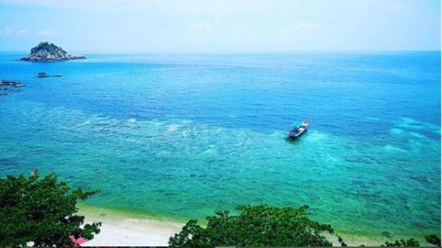 Pantai Koh Tao di Thailand