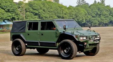 Maung, Kendaraan taktis 4x4 terbaru yang diproduksi PT Pindad (Persero). (Dok Pindad)