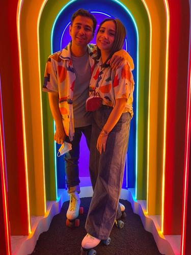 Raffi Ahmad dan Nagita Slavina. (Foto: Instagram @raffinagita1717)