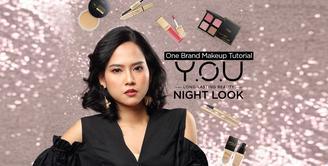 One Brand Make Up Tutorial Y.O.U|Night Look